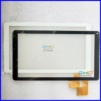(Ref: YJ247/248FPC-V1 YH-1628 ) melns vai balts 10.1 collu touch screen panelis pieskarieties digitizer tablet PC MID